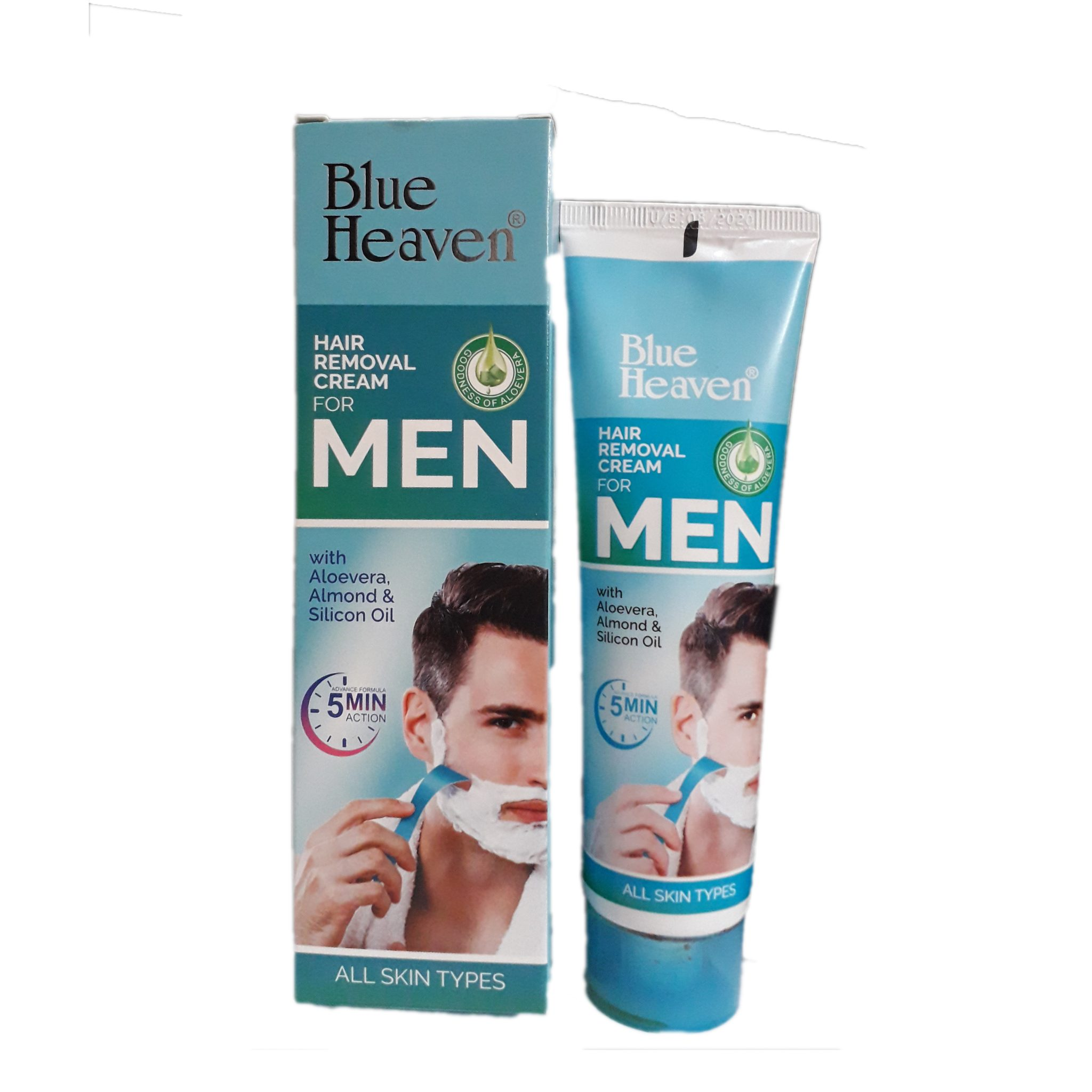 Blue Heaven Hair Removal Cream For Men Phil Hallmark Direct